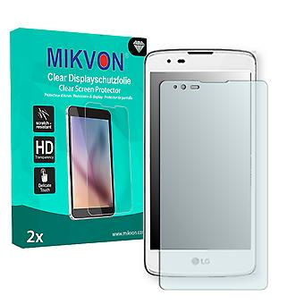 LG X max Screen Protector - Mikvon Clear (Retail Package with accessories)