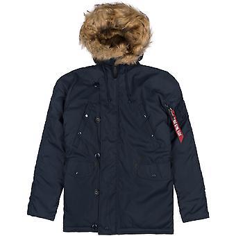 Alpha industries hiver veste homme Explorer sans patchs