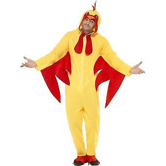 Huhn Kostüm, Medium