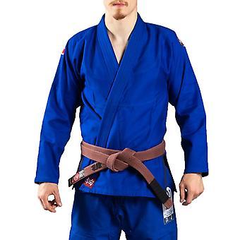 スクランブル競技 V4 375 柔術 Gi ブルー