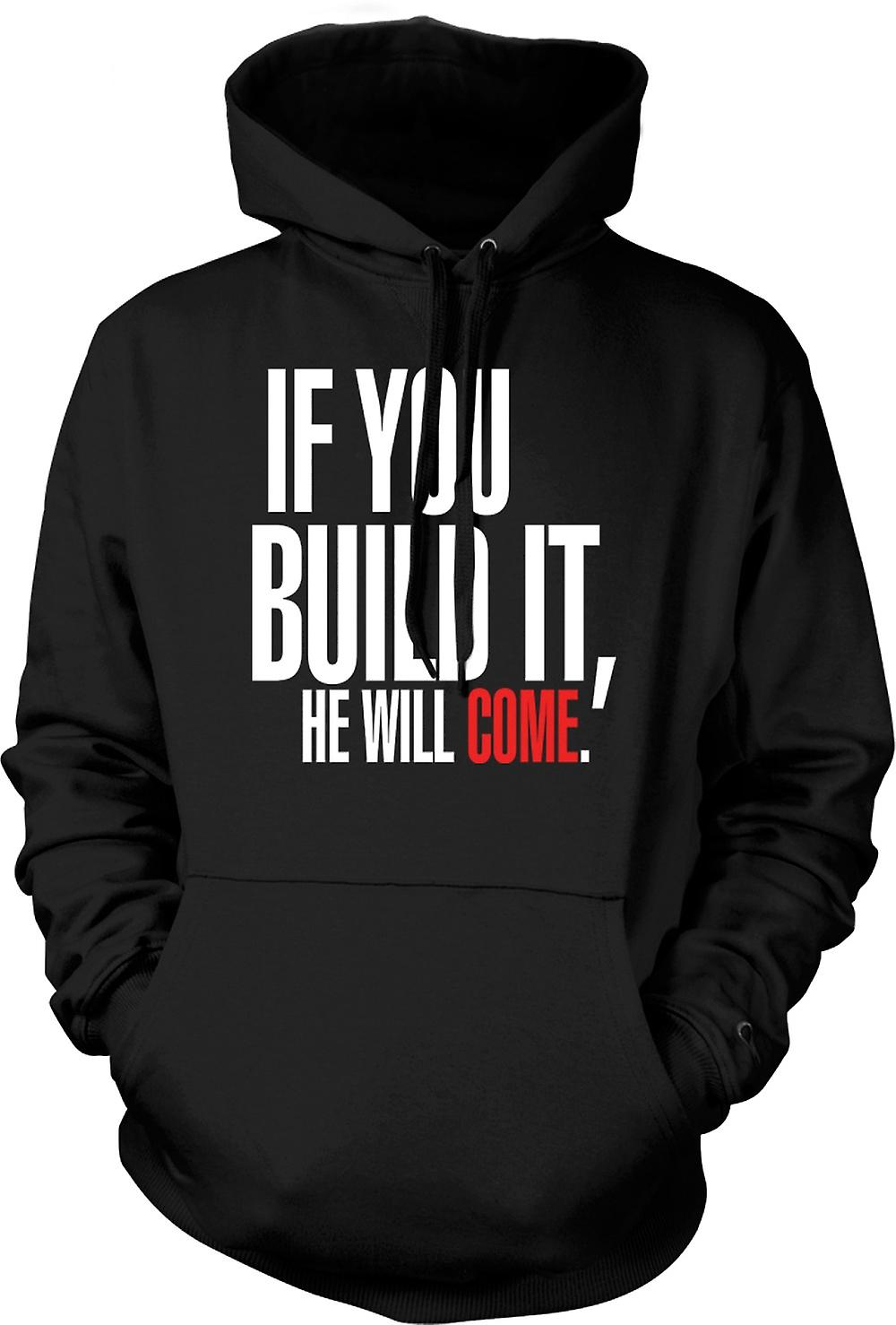 Kids Hoodie - Field Of Dreams If You Build It - Funny