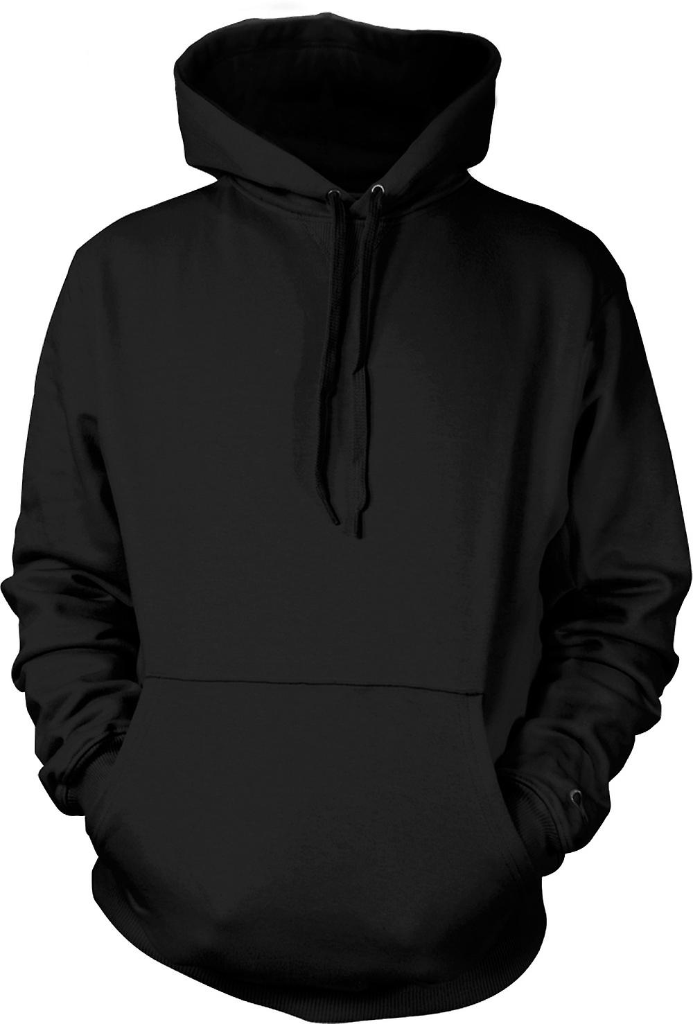 Mens Hoodie - Laugh Now But One Day We'll Be In Charge Banksy