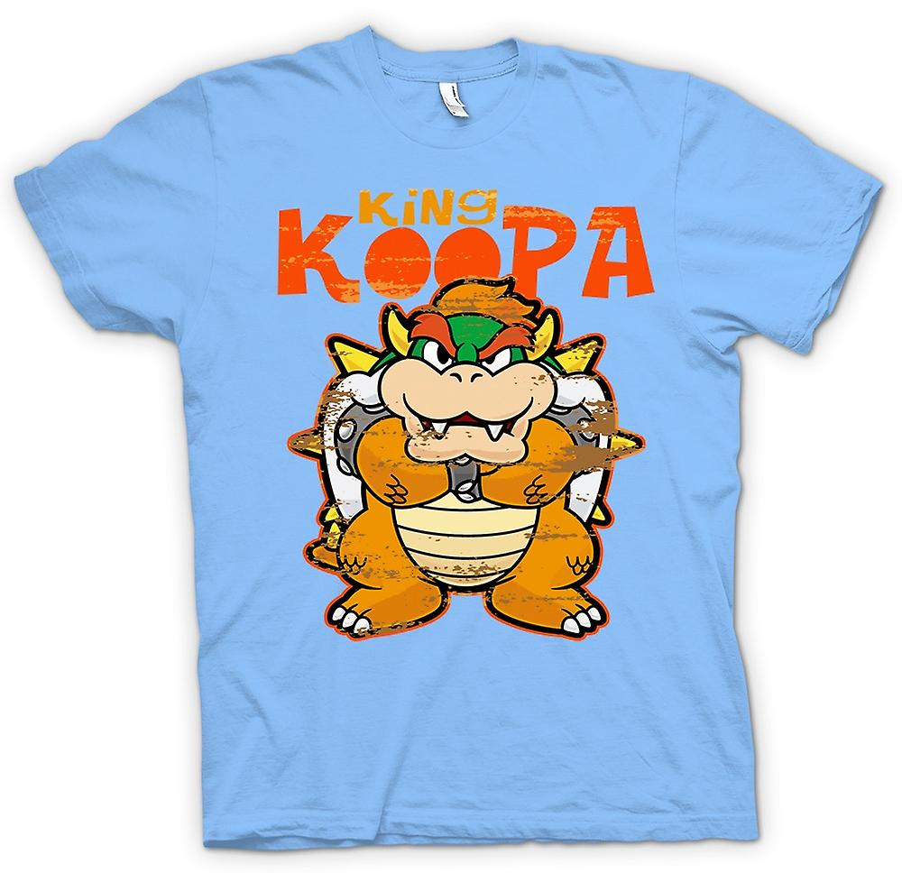 Mens T-shirt - King Koopa - Super Mario