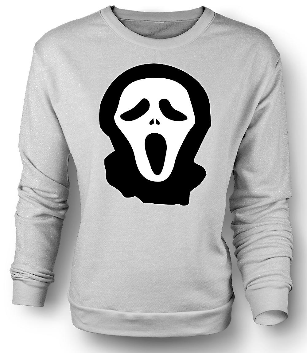 Mens Sweatshirt Scream - Funny - Cult - Horror