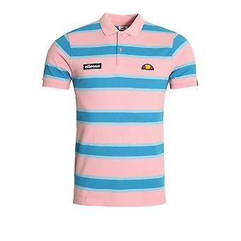 Ellesse Marono Polo Shirt | Light Pink