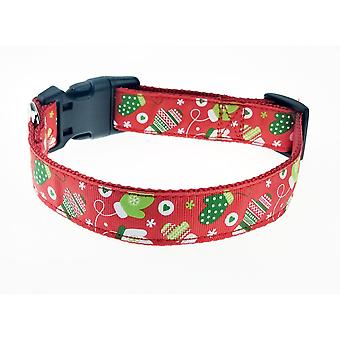 Dog Leash with Christmas Theme-Gloves-Small