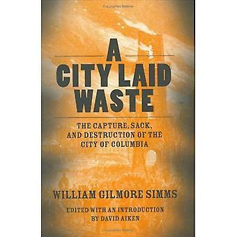 Een stad die afval: het vastleggen, plundering en verwoesting van de stad van Columbia