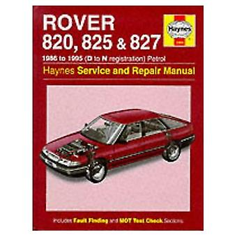 Rover 820, 825 & 827 : 1986 to 1995