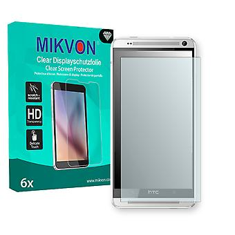 HTC One Max LTE Screen Protector - Mikvon Clear (Retail Package with accessories)