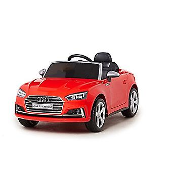 Audi Electric Ride On Car - Licensed S5 Ride On Car For Kids - 12v - Red