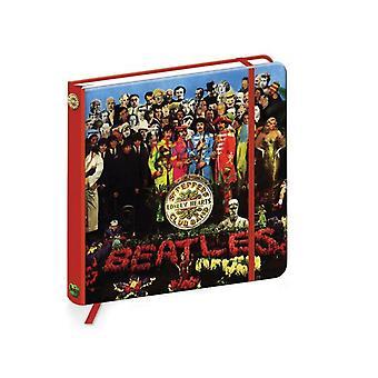 Le Beatles Notebook Sgt Pepper bande logo Nouvelles officielles de qualité cartonnée journal