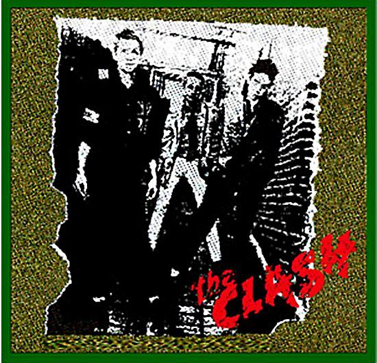 The Clash First Album sew-on cloth patch   (mm)