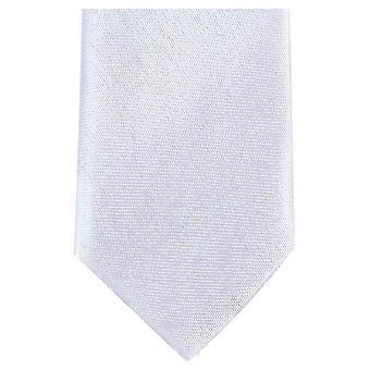 Knightsbridge dassen mager Polyester ex aequo - wit
