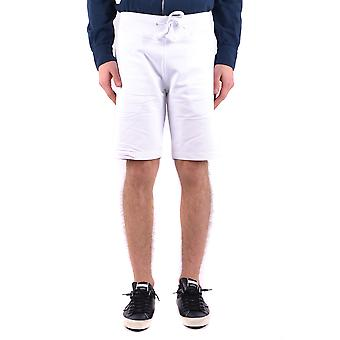 Aeronautica Militare Shorts de algodão branco