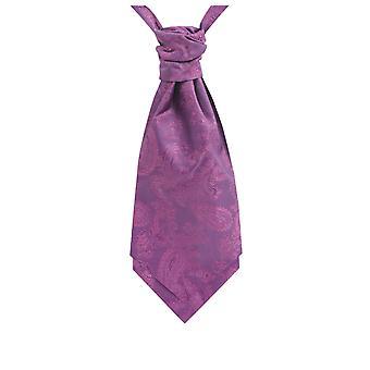 Dobell garçons Paisley Purple Cravat