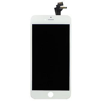 Hvit, budsjett kvalitet LCD-skjerm for iPhone 6 Plus | iParts4U