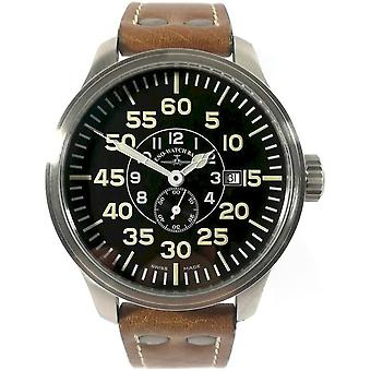 Zeno-watch - wrist watch - mens - OS pilot observer automatic - 8595N-6-a1