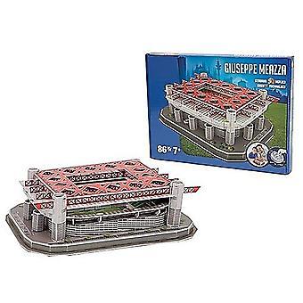Internazionale Milano Guiseppe Meazza Stadium 86 Piece 3d Jigsaw Puzzle (kog)
