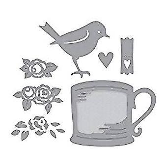 Spellbinders Robin and Rosy Mug Dies (S4-950)