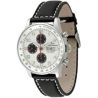 Zeno-watch montre XL chronographe rétro-date P557TVDD-d2