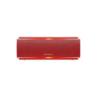Sony SRS-XB21 Portable Wireless Waterproof Speaker with Extra Bass and 12-Hour Battery Life - Red
