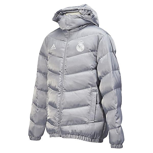 2015-2016 Real Madrid Adidas Down Jacket (Clear Onix)