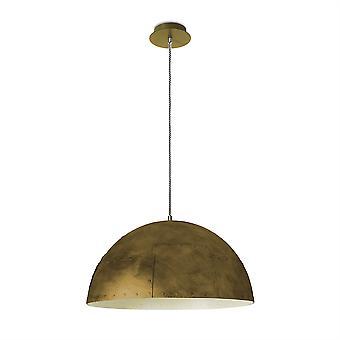 Neo Pendant Ceiling Light Small Gold/Weiß-Leds-C4 00-2749-E2-16