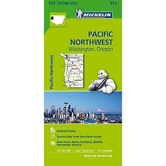 Pacific Northwest Zoom Map 171 - Washington Oregon - 9782067190764 Book