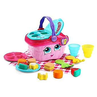 LeapFrog Shapes & Sharing Picnic Basket Pink