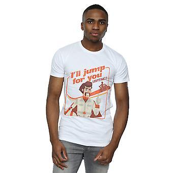 Disney Men's Toy Story 4 Duke I'll Jump For You T-Shirt