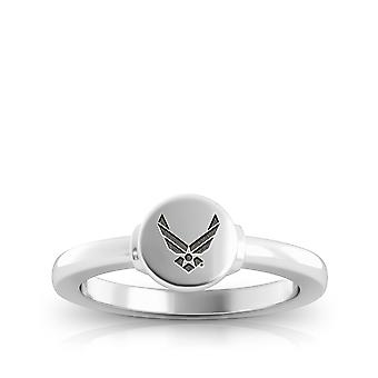 Us Air Force - Us Air Force Logo Engraved Signet Ring