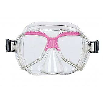 BECO Kids 4+ Diving Mask - Clear/Pink