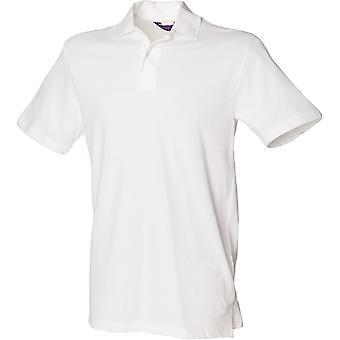 Henbury - Mens Stretch Piqué Polo Shirt
