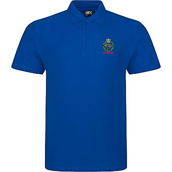 Royal Tank Regiment Veteran - Licenza British Army Ricamato RTX Polo