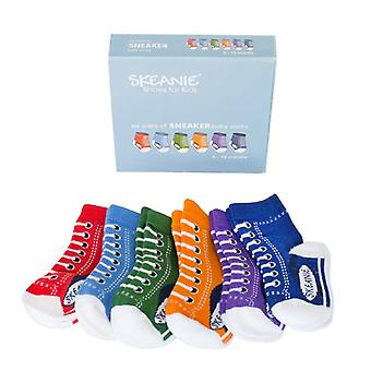 Chaussettes SKEANIE Baby Sneakers - 6 Pack