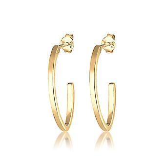 Elli Silver Women's Hoop Earrings 310431317