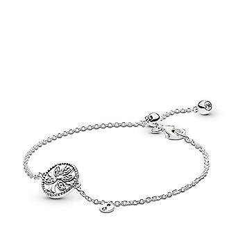 Pandora Donna Silver Bracelet with Charm 597776CZ-20