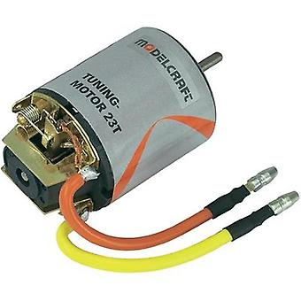 Modelcraft Tuning Electric motor 7.2 Vdc Idle speed 18924 rpm turns 23
