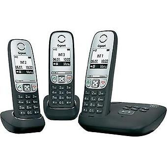 Cordless analogue Gigaset A415A Trio Answerphone, Hands-free