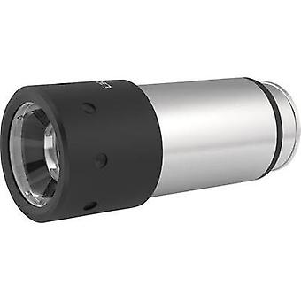 LED Mini torch LED Lenser Automative Stainless rechargeable 80 lm 43 g Silver, Black