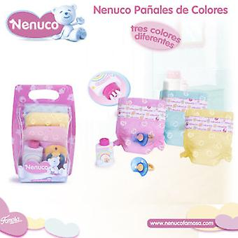 Nenuco Nenuco Diapers Colors (Toys , Dolls And Accesories , Baby Dolls , Accessoiries)