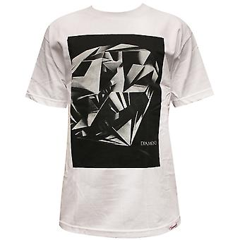 Diamond leverans Co Diamond Cut T-shirt vit