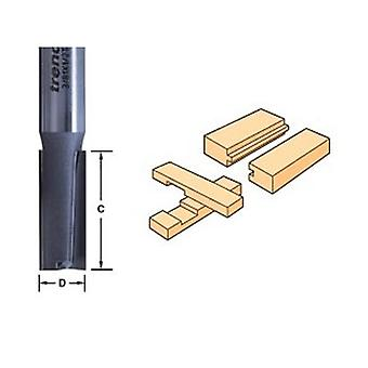Trend 3/60 X 1/2 Tungsten Carbide Two Flute Cutter