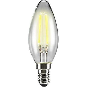 LED (monochrome) Sygonix 230 V E14 4 W = 40 W Warm white EEC: A++ Candle (Ø x L) 35 mm x 99 mm Filament 1 pc(s)