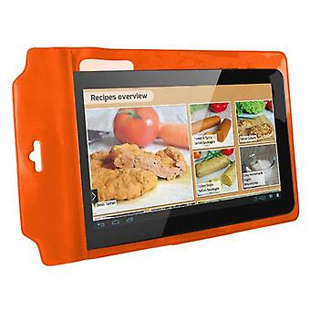 Ksix easy cook standing universal Case Orange (Casa , Elettronica , Tablets , Accessori)