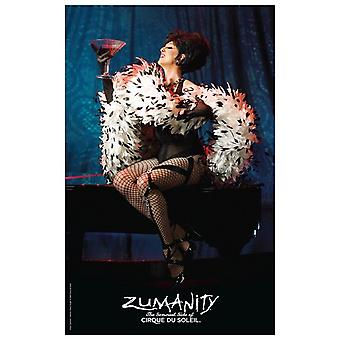 Cirque du Soleil - Zumanity c2003 (mistress of sensuality) Movie Poster (11 x 17)
