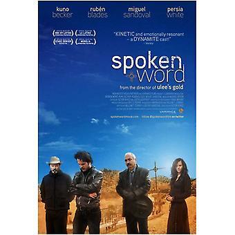 Poster do filme palavra falada (11 x 17)