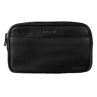 Bugatti washbag toiletry bag sacchetto cosmetico nero 4912