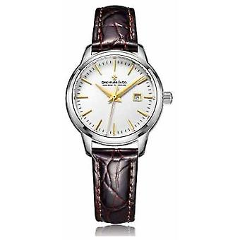 Dreyfuss Ladies Swiss Made With Brown Strap DLS00125/02 Watch