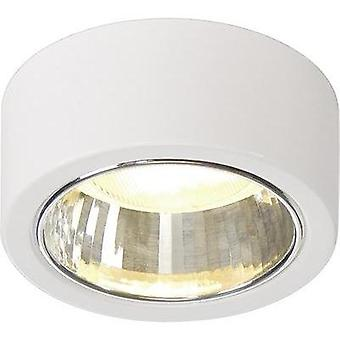 Ceiling light Energy-saving bulb GX53 11 W SLV CL 101 112281 White